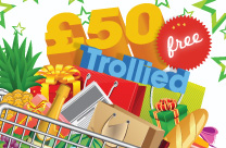 Trollied £50 – Jackpot now DOUBLED!