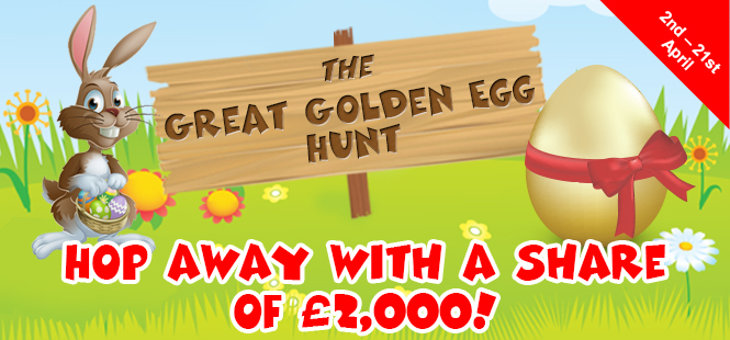 The Great Golden Egg Hunt